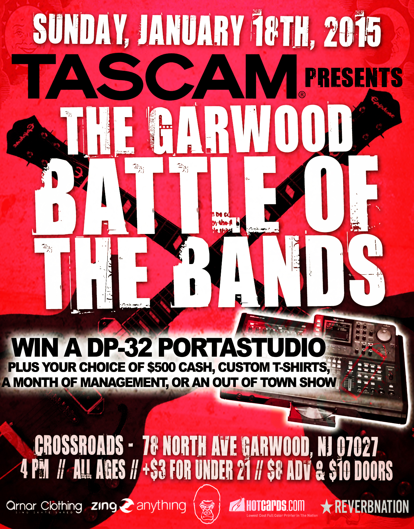 jan 18th BOTB @ crossroads